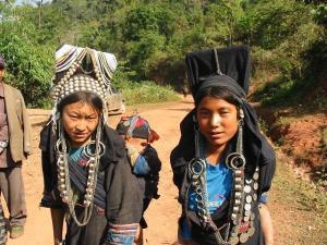 femmes Akha laos
