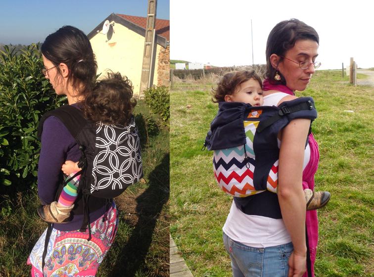 Porte bébé préformé Buzzidil versus Tula Toddler