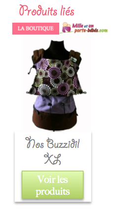 Acheter porte bébé préformé Buzzidil XL