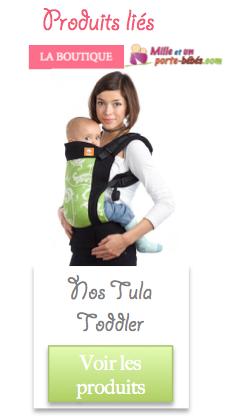 Acheter porte bébé préformé Tula Toddler