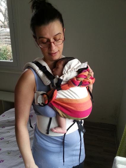 porte bébé préformé pour nouveau né