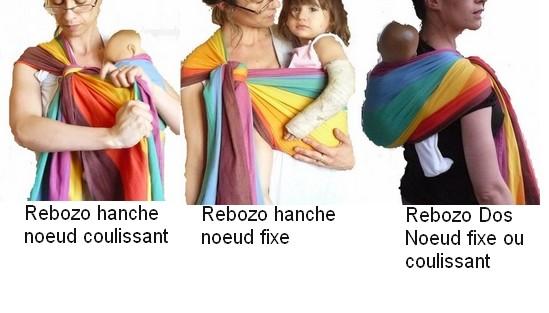 Nouages Hamac noeud rebozo