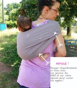 Confort du bébé dans le hamac