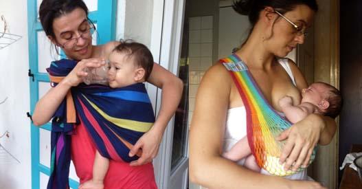 hydratation bébé porté