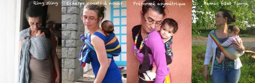 les porte bébés asymétriques
