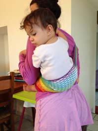 tonga porte bébé estival