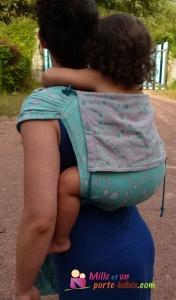 visuel enveloppement épaule porteuse avec bretelle déployable